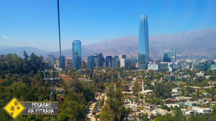 teleférico Cerro San Cristóbal Santiago