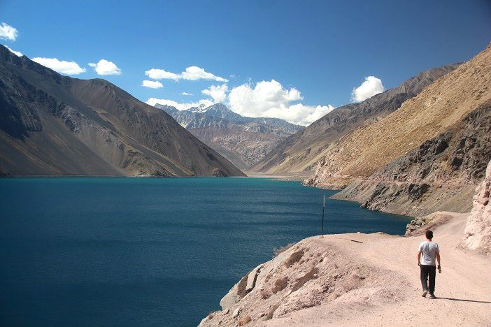 Embalse el Yeso Chile