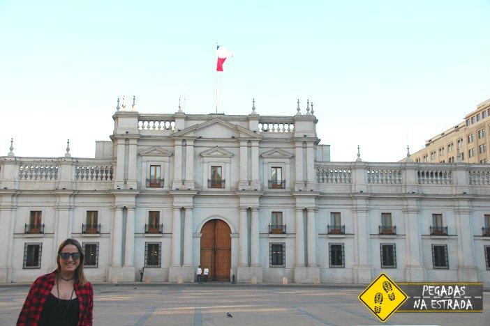 roteiro Santiago Palácio de La Moneda