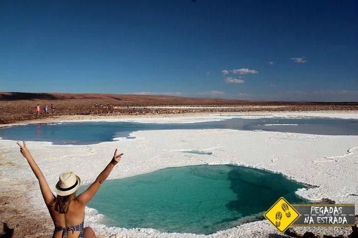Lagoas Escondidas de Baltinache Atacama