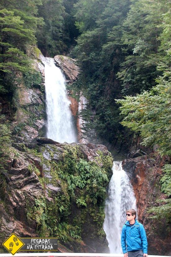 Cascada de la Virgen Chile
