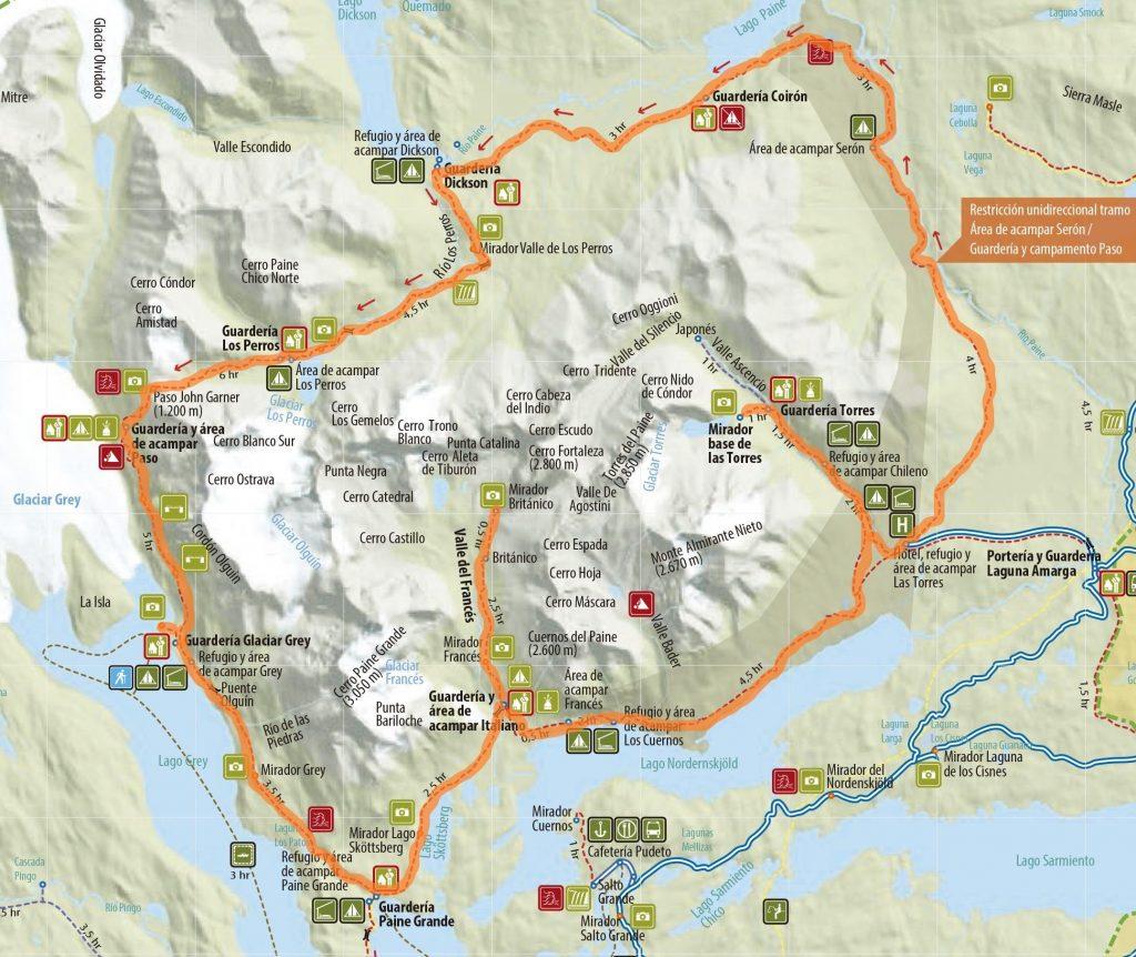 Circuito O Torres del Paine Chile