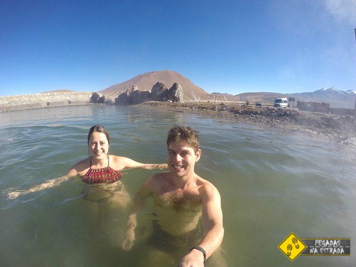 piscina termal Geyser El Tatio, Atacama