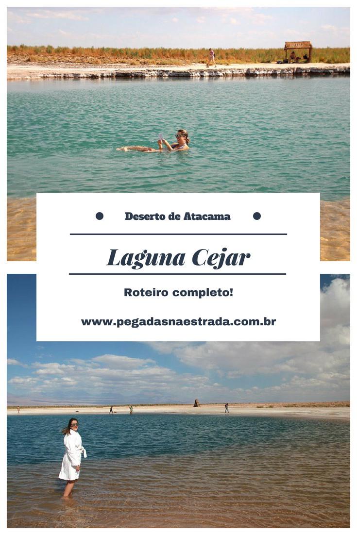 Conheça a Laguna Cejar, uma lagoa tão salgada, que impedirá que você afunde. Nesse passeio de meio dia no Deserto de Atacama, você também conhecerá os Ojos del Salar e a Laguna Tebinquiche. Dicas de agência voltada para o público brasileiro, hospedagem e muito mais. Confira também o roteiro completo pelo Atacama.