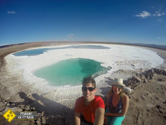 Lagunas Escondidas de Baltinache Atacama Chile viagem