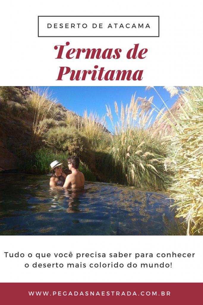 Localizadas a 3.500 metros de altitude, as Termas de Puritama são um verdadeiro oásis em meio do Deserto de Atacama. No post de hoje, saiba como chegar nas termas, o seu funcionamento, o que levar, dicas de hospedagem em San Pedro de Atacama e muito mais. Confira também o roteiro completo de 7 dias no Atacama.
