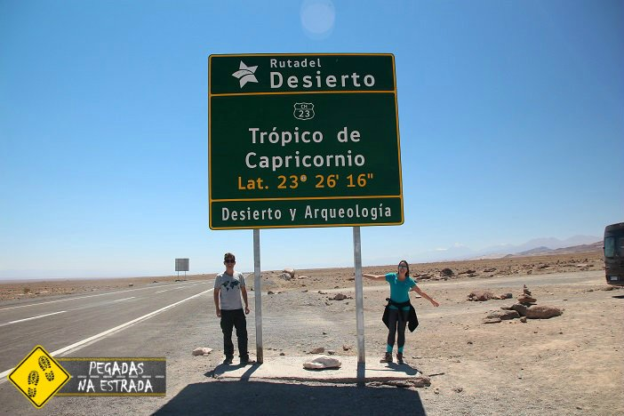 Trópico de Capricórnio Atacama roteiro