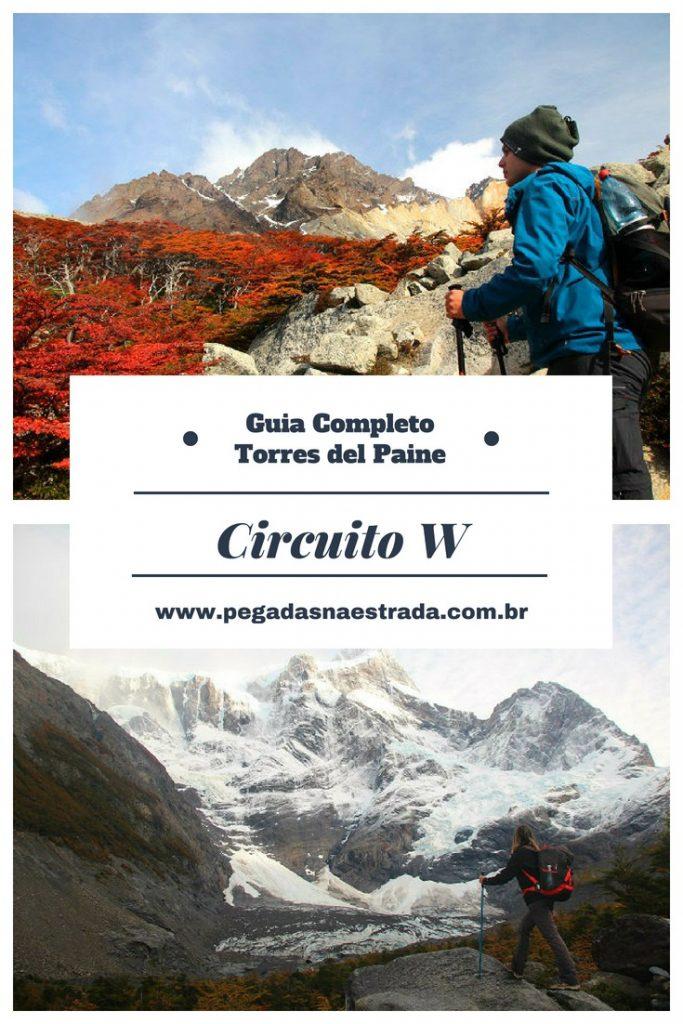 Saiba tudo sobre o Circuito W, em Torres del Paine! Saiba mais sobre onde começar o trekking, um roteiro completo, informações técnicas sobre as trilhas, as principais atrações de cada dia, além de muitas outras dicas.