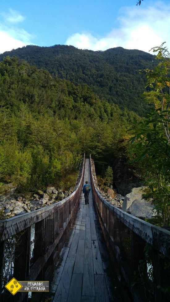 Ventiquero Colgante Parque Nacional Queulat Chile