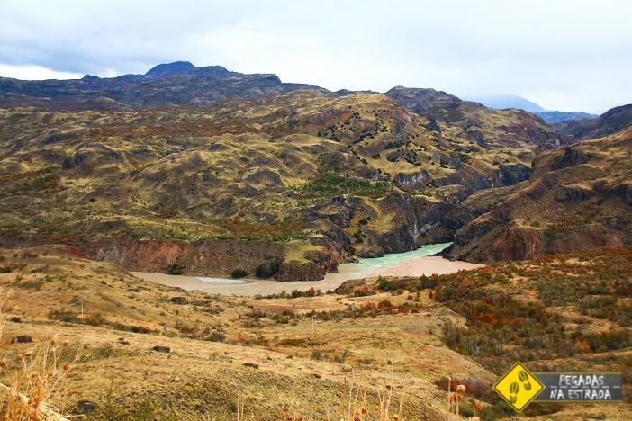 Confluência do RioBaker edo Rio Chacabuco Carretera Austral roteiro