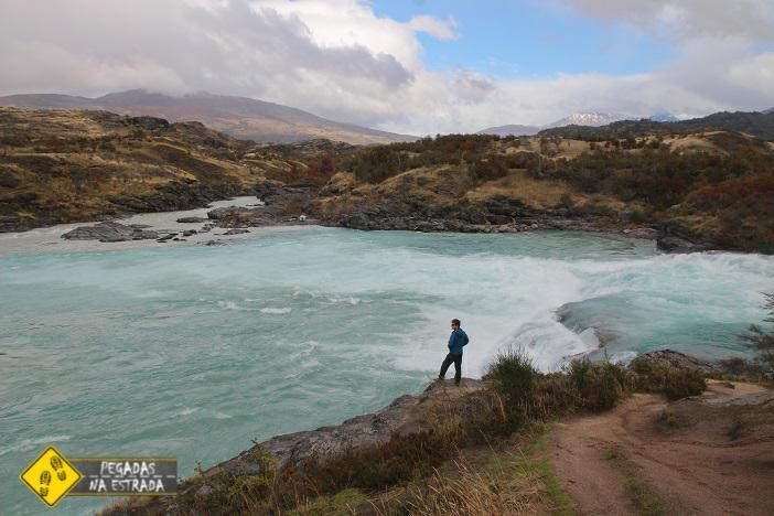 Confluência do RioBaker e Rio Neff turismo Chile