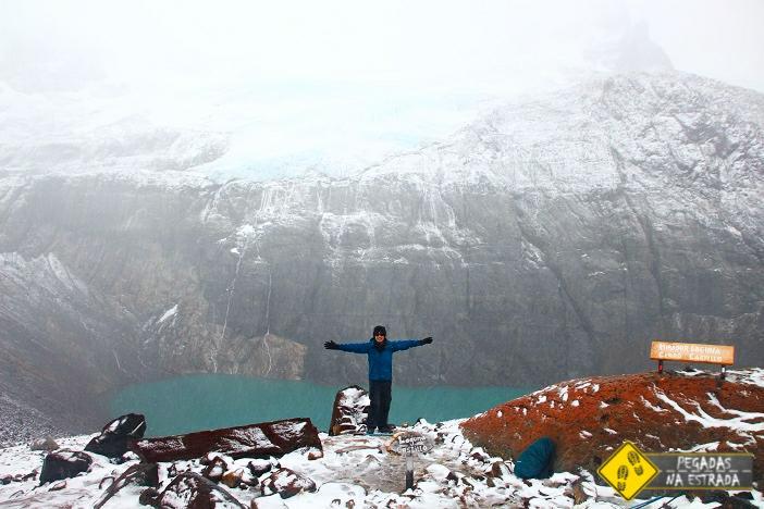 Laguna Cerro Castillo Chile trekking