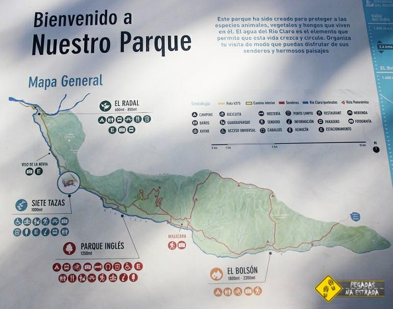 O que fazer no Parque Nacional Siete Tazas Chile