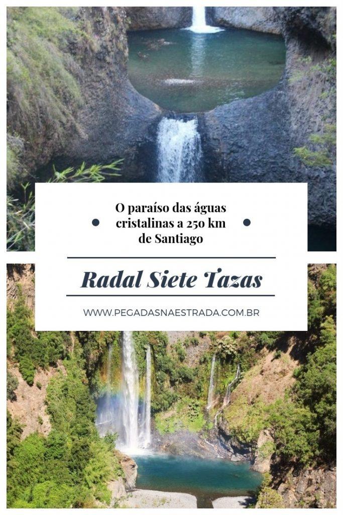 Conheça o Radal Siete Tazas, um parque nacional localizado a cerca de 250 km de Santiago, que abriga diversas cachoeiras de água verde cristalina.