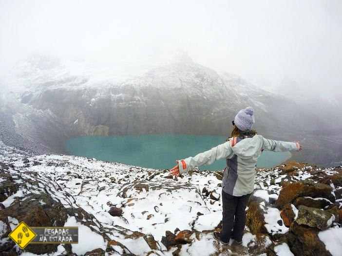 Laguna Cerro Castillo Chile hiking