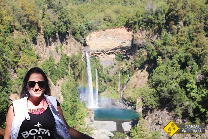 Salto Velo de la Novia Radal Siete Tazas Chile