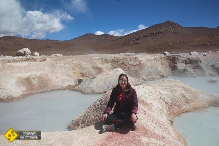 geyseres Bolívia Salar de Uyuni