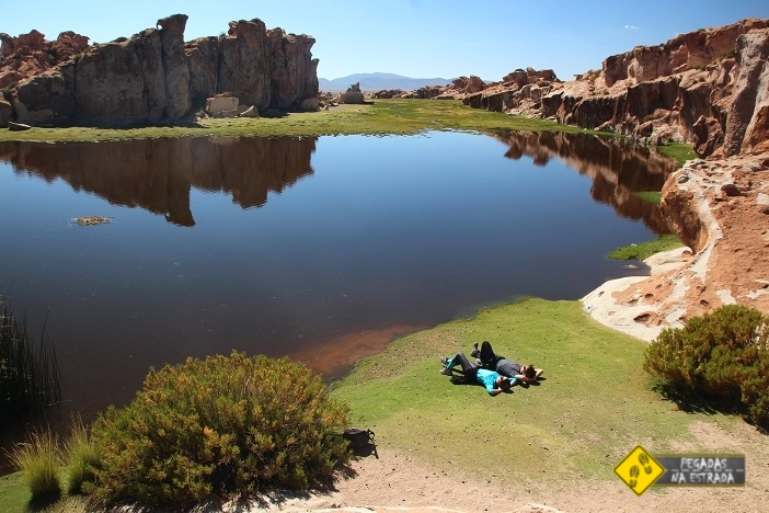 Laguna Catal Bolívia tour Salar de Uyuni Denomades