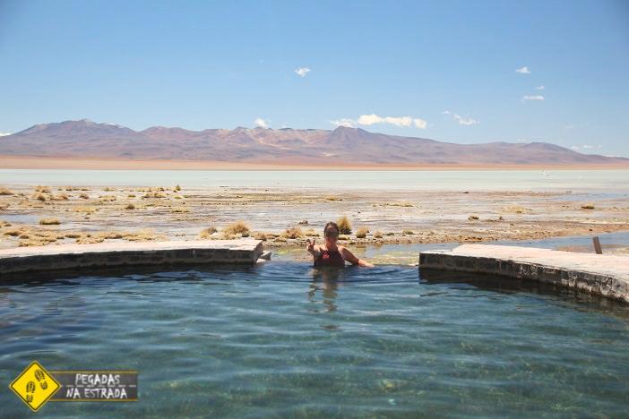 Águas Termais de Polques Laguna Salada Bolívia