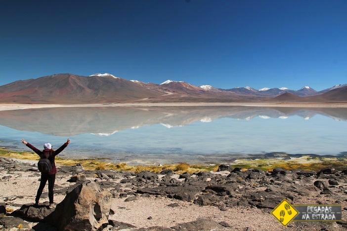 Laguna Blanca tour Salar de Uyuni Denomades
