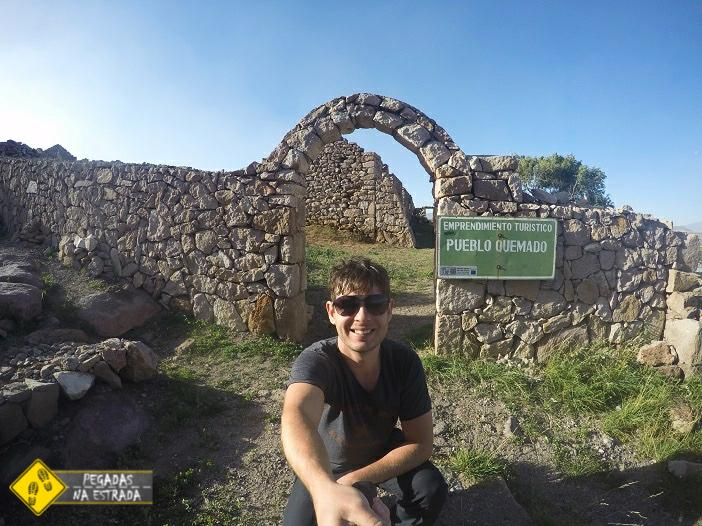 ruínas Bolívia Pueblo Quemado