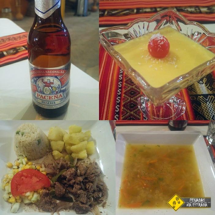 refeição tour Salar de Uyuni