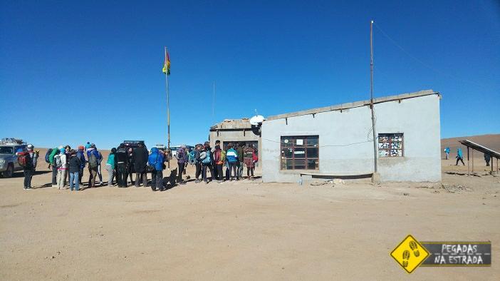 Imigração da Bolívia na fronteira com o Chile