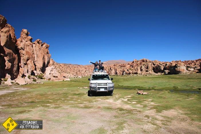 Valle de Rocas excursão Salar de Uyuni