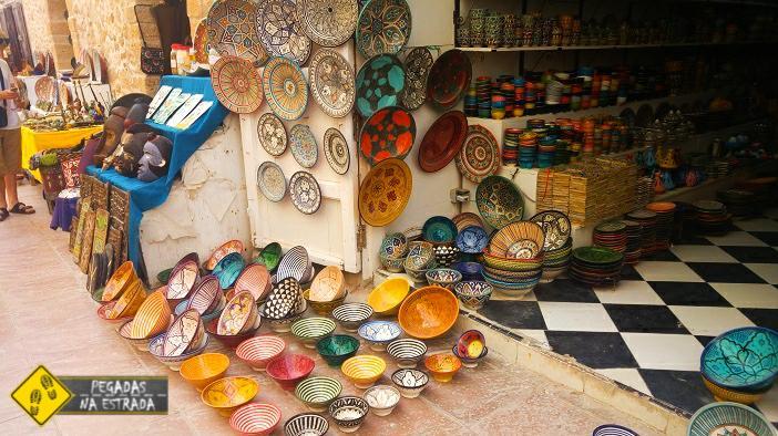 Artesanato Marrocos viagem