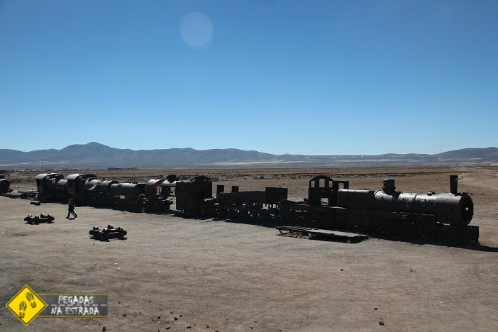 Roteiro no Salar de Uyuni Cemitério dos trens