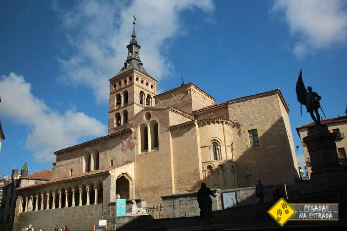 Igreja Católica San Martín Segóvia Espanha