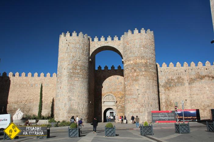 Puerta del Alcázar Ávila Espanha