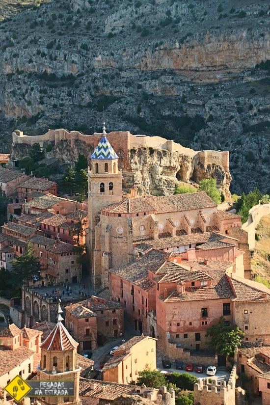cidade medieval Albarracín Espanha