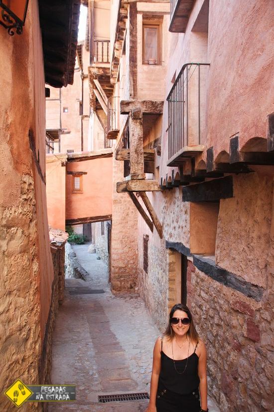 cidade romântica Espanha