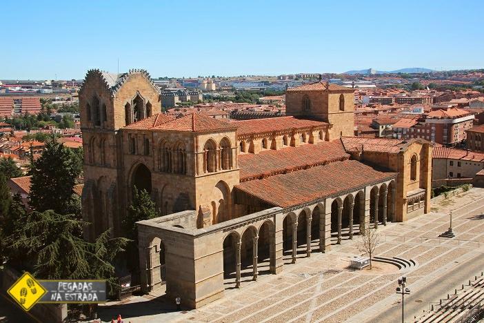 Basílica de São Vicente de Ávila Espanha