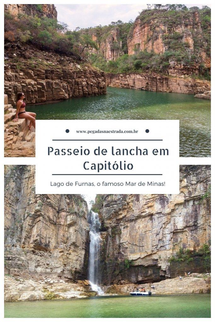 O que fazer em Capitólio Minas Gerais Roteiro dicas passeio de lancha