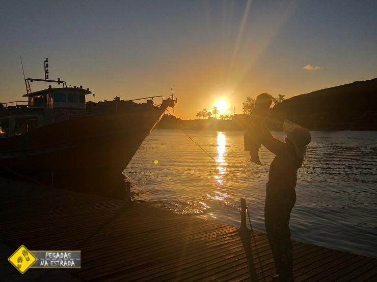 Pontos turísticos Cabo Frio pôr do sol