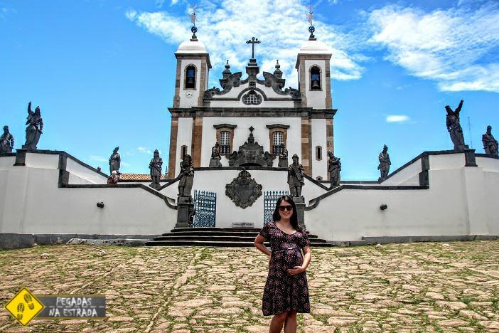 Santuário do Bom Jesus de Matosinhos, em Congonha, Minas Gerais