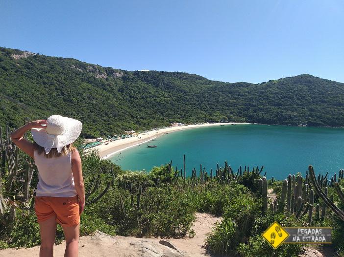 Trilha para a Praia do Forno Arraial do Cabo